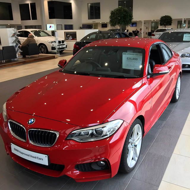 Bmw Xxx: Feeling Slightly Spooked Just Now. Popped Into The Dealer